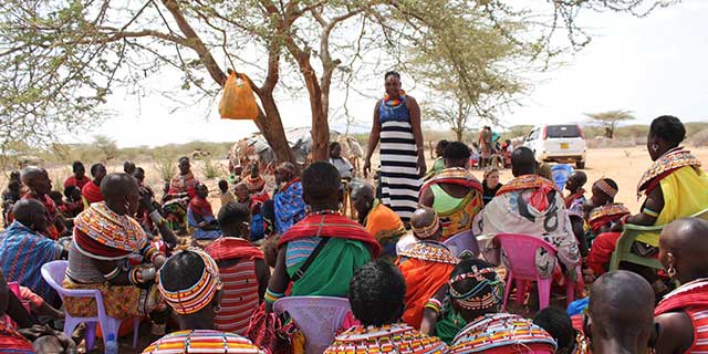 "Pastoralist Child Foundation and The Samburu Project ""Sisters Project"""