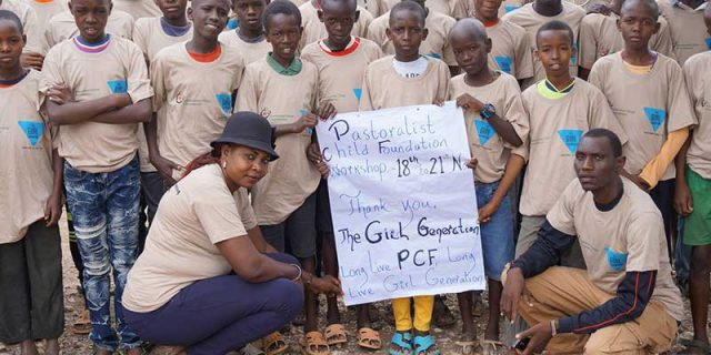 Pastoralist Child Foundation Boys Workshop